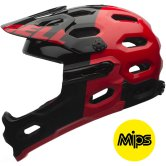 BELL Super 2R MIPS 2016 Equipped Black / Red Agression