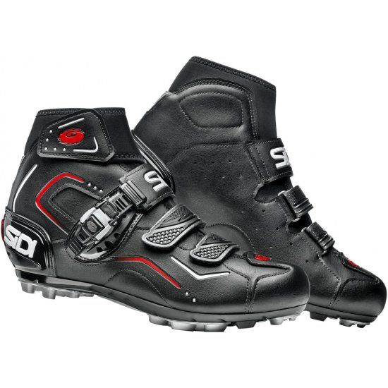 Schuhe SIDI MTB Breeze Rain Black