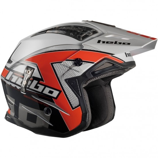 HEBO Zone 4 Kontrox Red Helmet