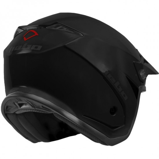 Casco HEBO Zone 5 Monocolor Matt Black