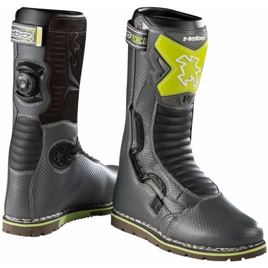 Stiefel HEBO Tech Comp Grey / Green