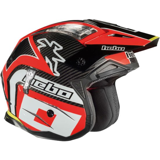 Casco HEBO Zone 4 Carbon Red