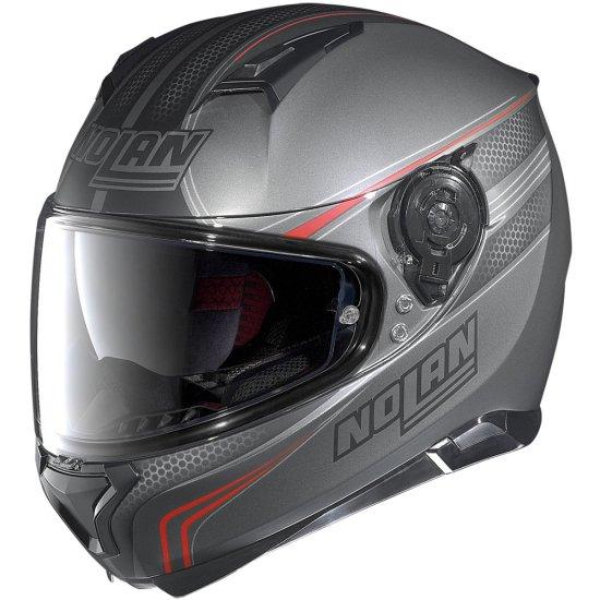 Helm NOLAN N87 Rapid N-Com Flat Lava Grey