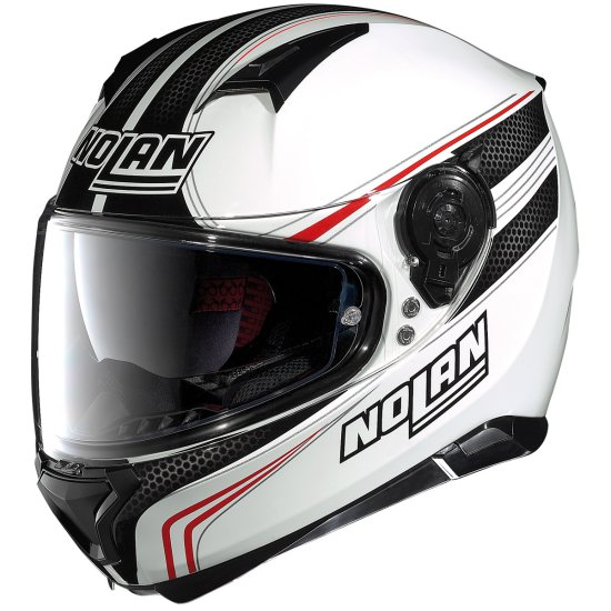 Helm NOLAN N87 Rapid N-Com Metal White