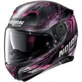 N87 Carnival N-Com Flat Black / Pink