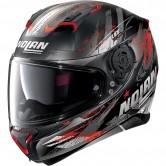N87 Carnival N-Com Flat Black / Red