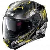 N87 Carnival N-Com Flat Black / Yellow