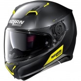 N87 Emblema N-Com Flat Black / Yellow