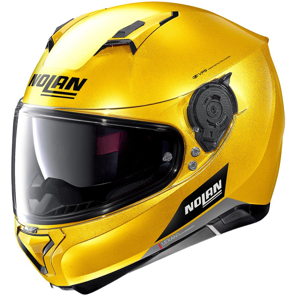 Casco NOLAN N87 Emblema N-Com Spark Yellow