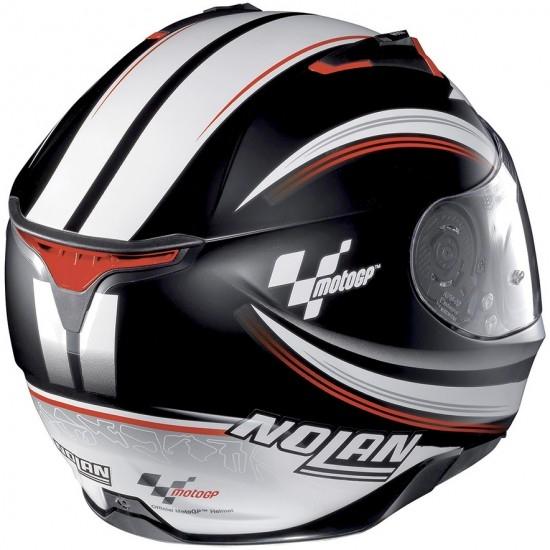 Helm NOLAN N87 MotoGP N-Com Flat Black