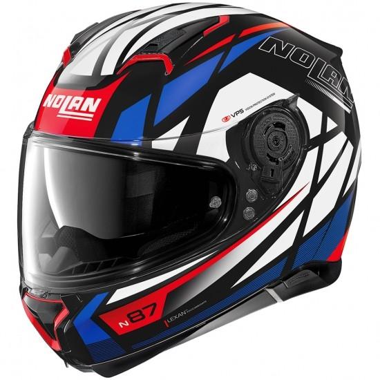 Helm NOLAN N87 Orginality N-Com Glossy Black
