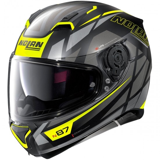 Helm NOLAN N87 Originality N-Com Flat Black