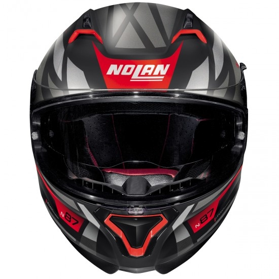N87 Originality N-Com Flat Black / Red