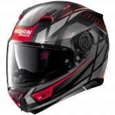 NOLAN N87 Originality N-Com Flat Black / Red