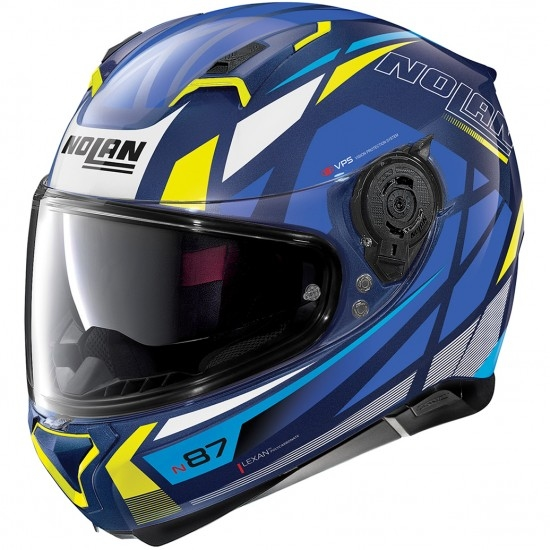 Helm NOLAN N87 Originality N-Com Imperator Blue