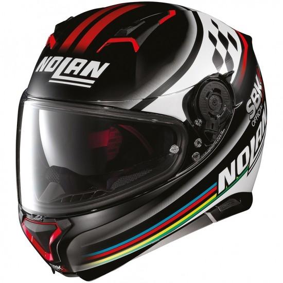 Helm NOLAN N87 SBK N-Com Flat Black