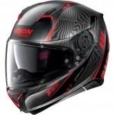 N87 Sioux N-Com Flat Black / Red