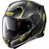N87 Sioux N-Com Flat Black / Yellow