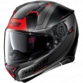 N87 Skilled N-Com Flat Black / Red