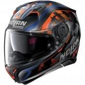 N87 Venator N-Com Flat Black / Orange