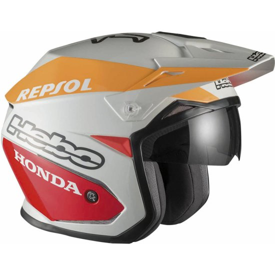 Capacete HEBO Montesa Team II White