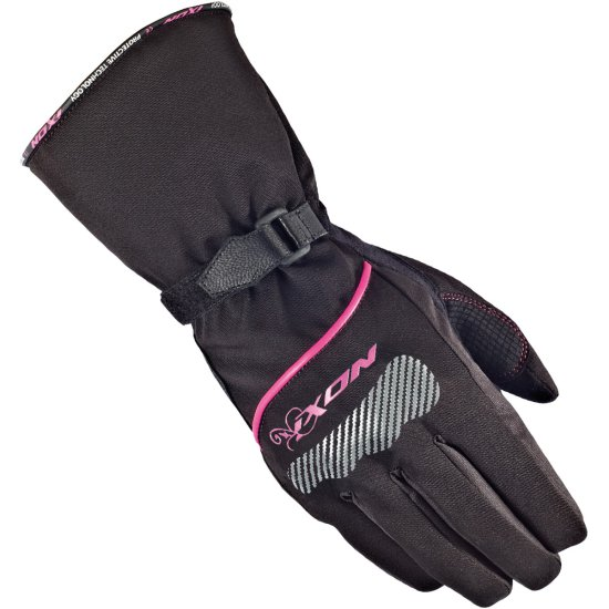 Handschuh IXON Pro Spy HP Lady Black / White / Fuchsia
