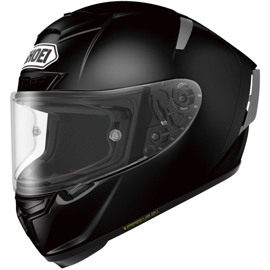 shoei x spirit 3 black helmet motocard. Black Bedroom Furniture Sets. Home Design Ideas