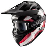 SHARK Explore-R Peka Black / Red / White