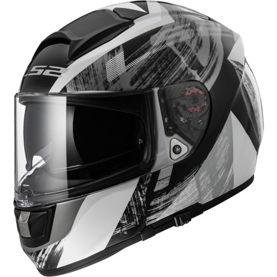 Casco LS2 FF397 Vector FT2 Cosmos White / Black