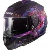LS2 FF397 Vector HPFC Evo Cosmos Matt Black / Pink