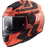 LS2 FF397 Vector HPFC Evo Hunter Matt Orange / Black