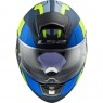 Casco LS2 FF397 Vector HPFC Evo Kripton Matt Blue / H-V Yellow