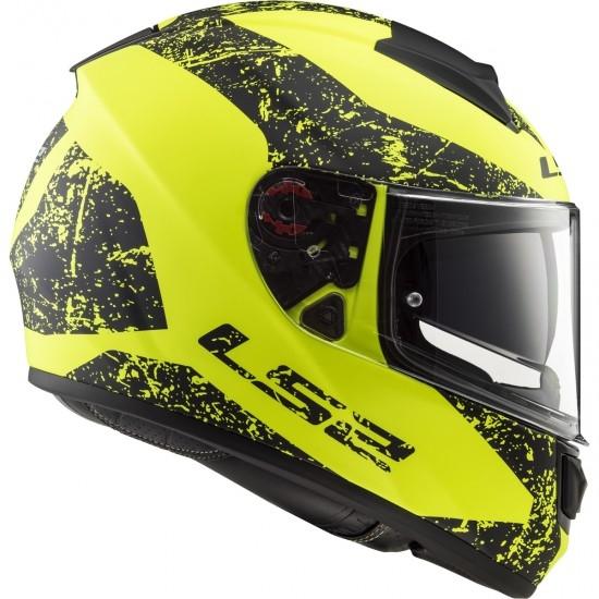 Casco LS2 FF397 Vector HPFC Evo Sign Matt Yellow / Black
