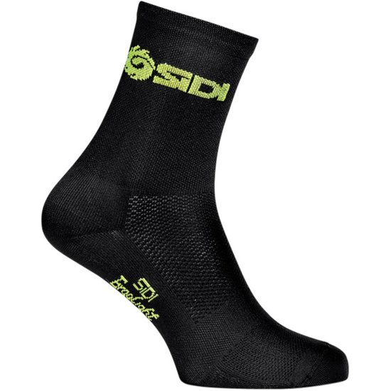 Chaussettes SIDI Calidos Black / Yellow Fluo