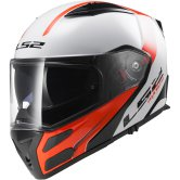 LS2 FF324 Metro Rapid White / Red Fluo