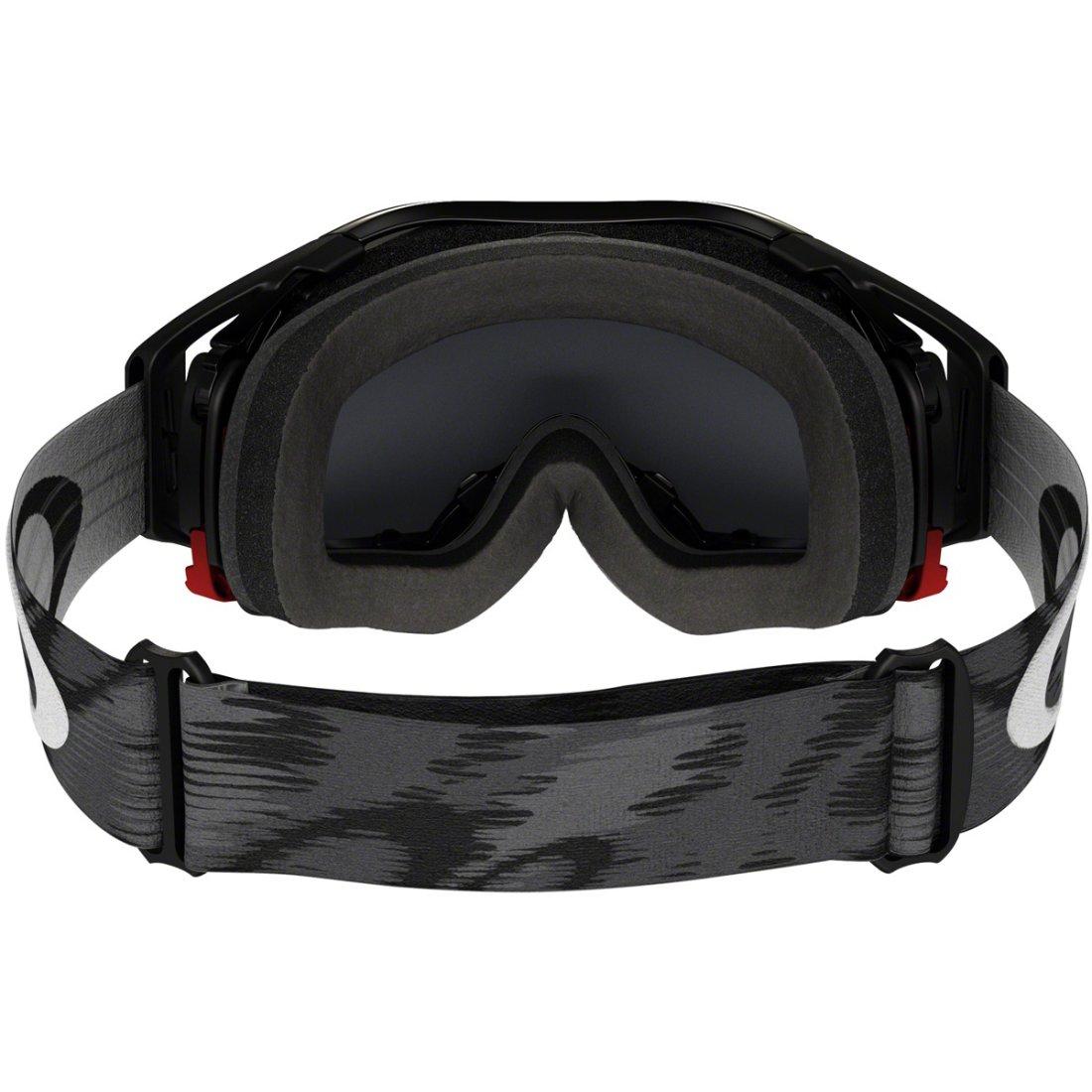 OAKLEY Airbrake MX Jet Black Speed Dark Grey Goggles · Motocard 66e2a733473f
