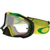 OAKLEY Crowbar MX Bio Hazard Rasta Clear
