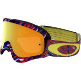 OAKLEY MX O-Frame Rain of Terror Red / Blue 24K Iridium