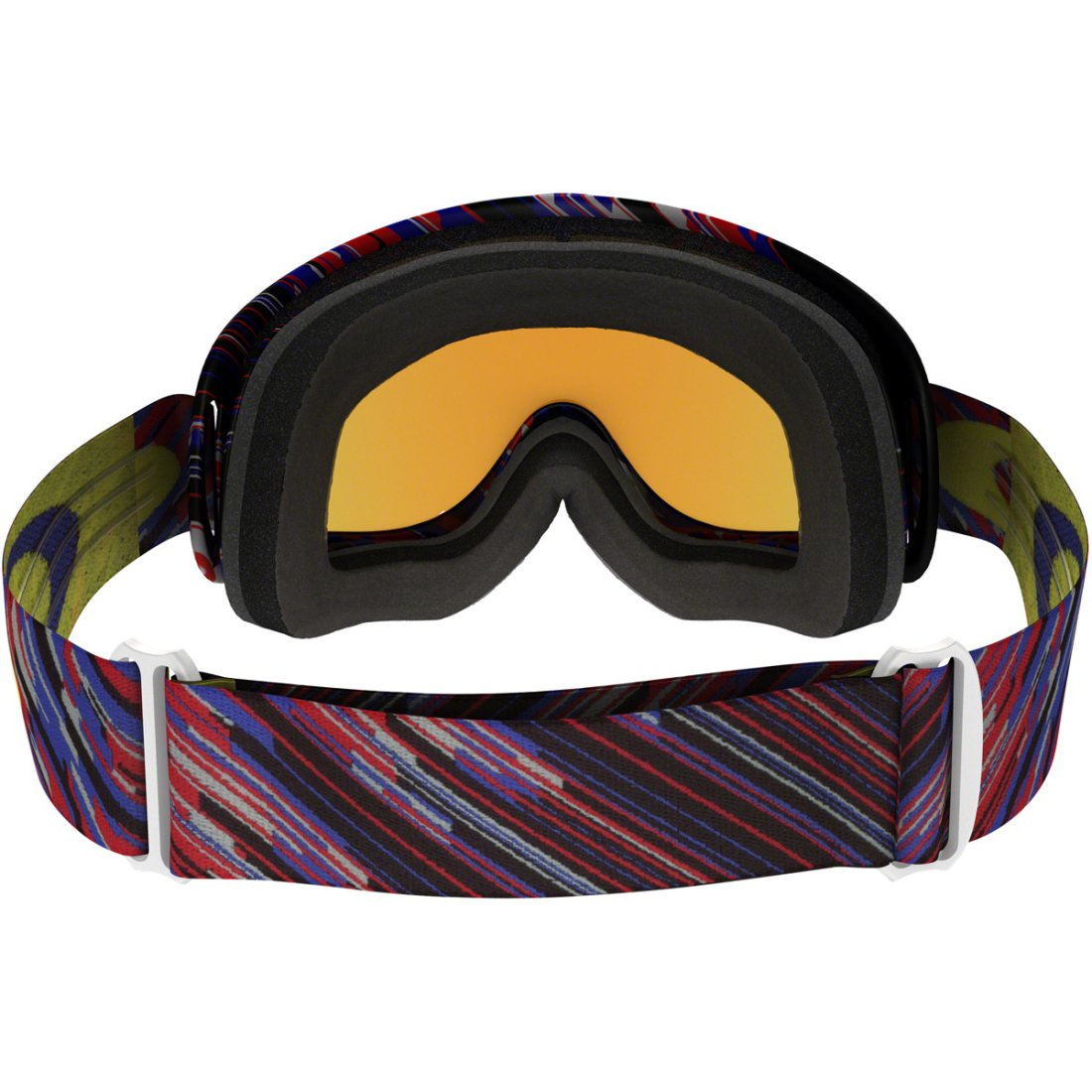0043cd1044 OAKLEY MX O-Frame Rain of Terror Red   Blue 24K Iridium Goggles ...