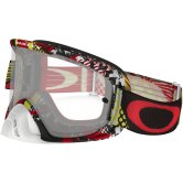 OAKLEY O2 MX Mosh Pit Red / Yellow Clear