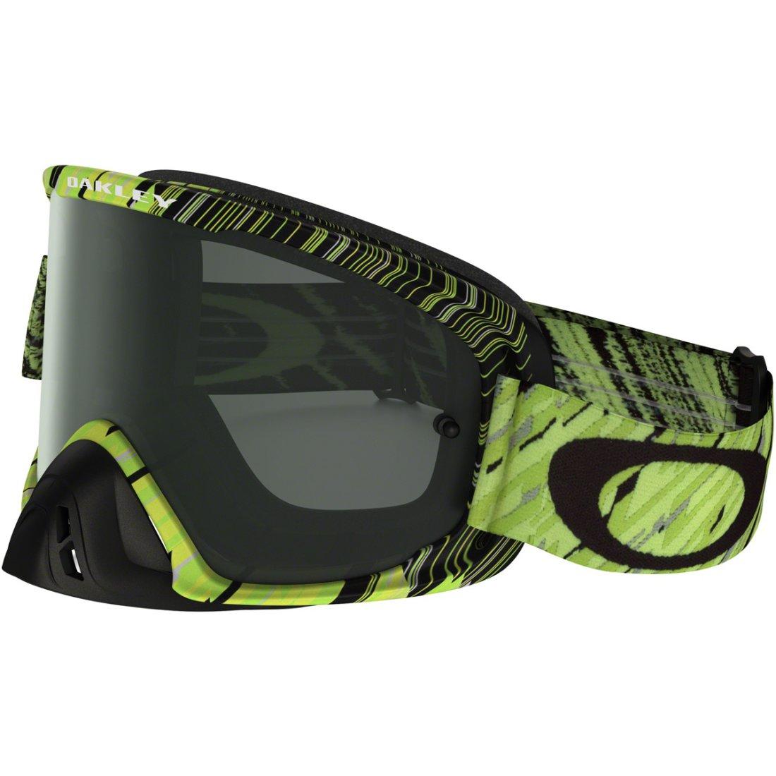 af4fedfa28 OAKLEY O2 MX Rain of Terror Green Dark Grey Mask   Goggle · Motocard