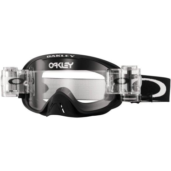 Roll Black Clear O2 Matte Lunettes Mx Oakley Off Masque v7bgY6yf
