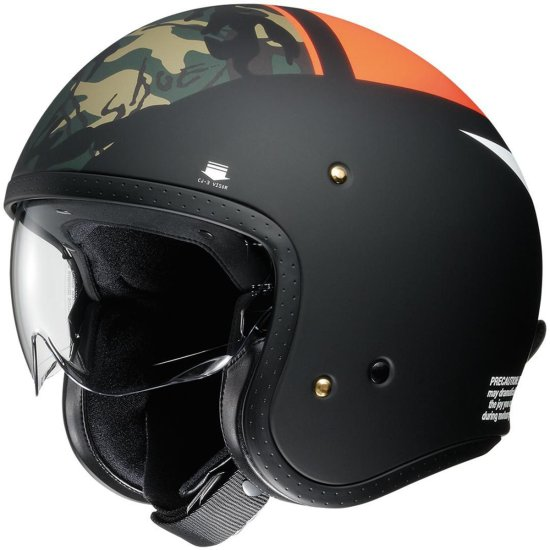 Casco SHOEI J.O Seafire TC-8