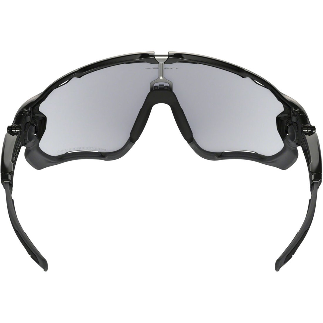 5e90831d79 OAKLEY Jawbreaker Photochromic Polished Black   Clear Black Iridium  Photocrhomic Activated Mask   Goggle
