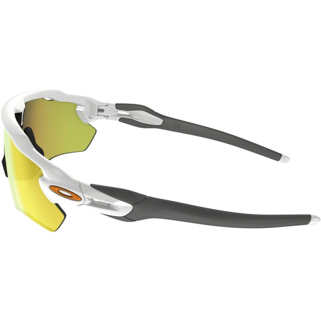 oakley radar ev path polished white fire iridium mask goggle rh motocard com
