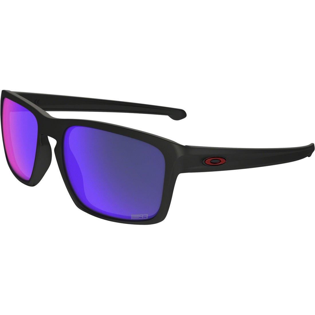 Oakley Sliver Matte Black Violet Iridium Polarized 2017 Taille Unique Noir/violet cKBWr2b