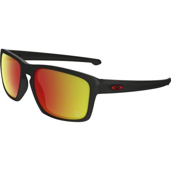 5d85ec136125b Gafas de sol OAKLEY Sliver Scuderia Ferrari Collection Matte Black   Ruby  Iridium