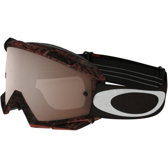 Óculos OAKLEY Proven MX Distress Tagline Red Black Iridium · Motocard eee24c33f9