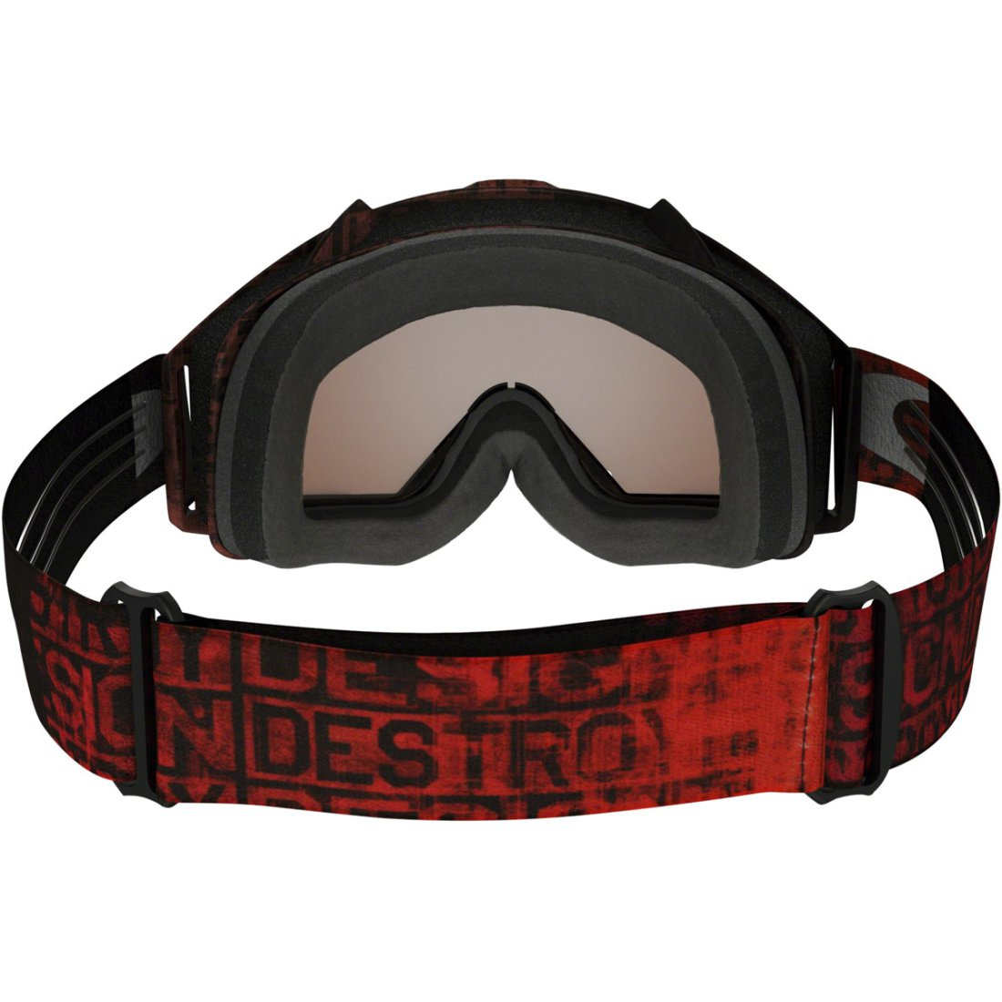 444c838bb1ff6 Máscara   Óculos OAKLEY Proven MX Distress Tagline Red Black Iridium ...