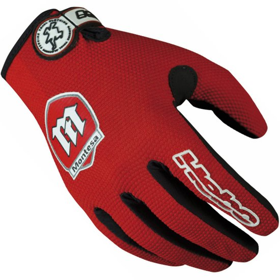 HEBO Montesa Classic Red Gloves